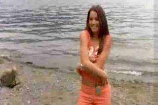 Erica Durance topless on screen