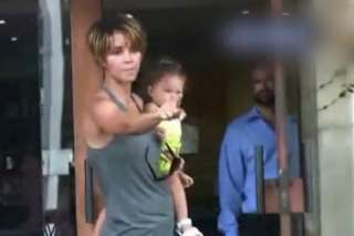 Halle Berry gets angry with the paparazzi
