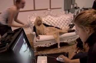 Taylor Momsen Seventeen Mag behind the scenes